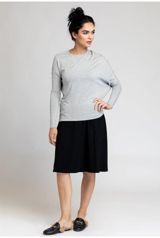 Third Asymmetric Sleeve Tee
