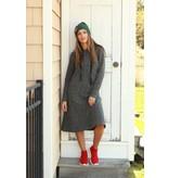 Tweed Hooded Dress