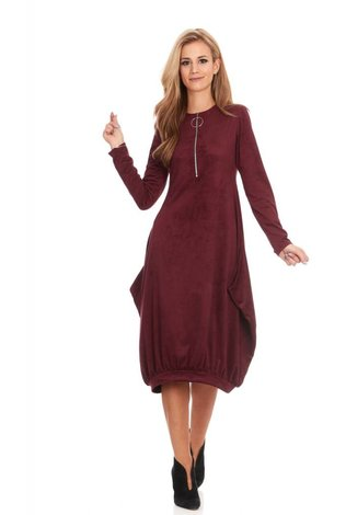 Bella Donna Rylie Zip Dress - See more colors!