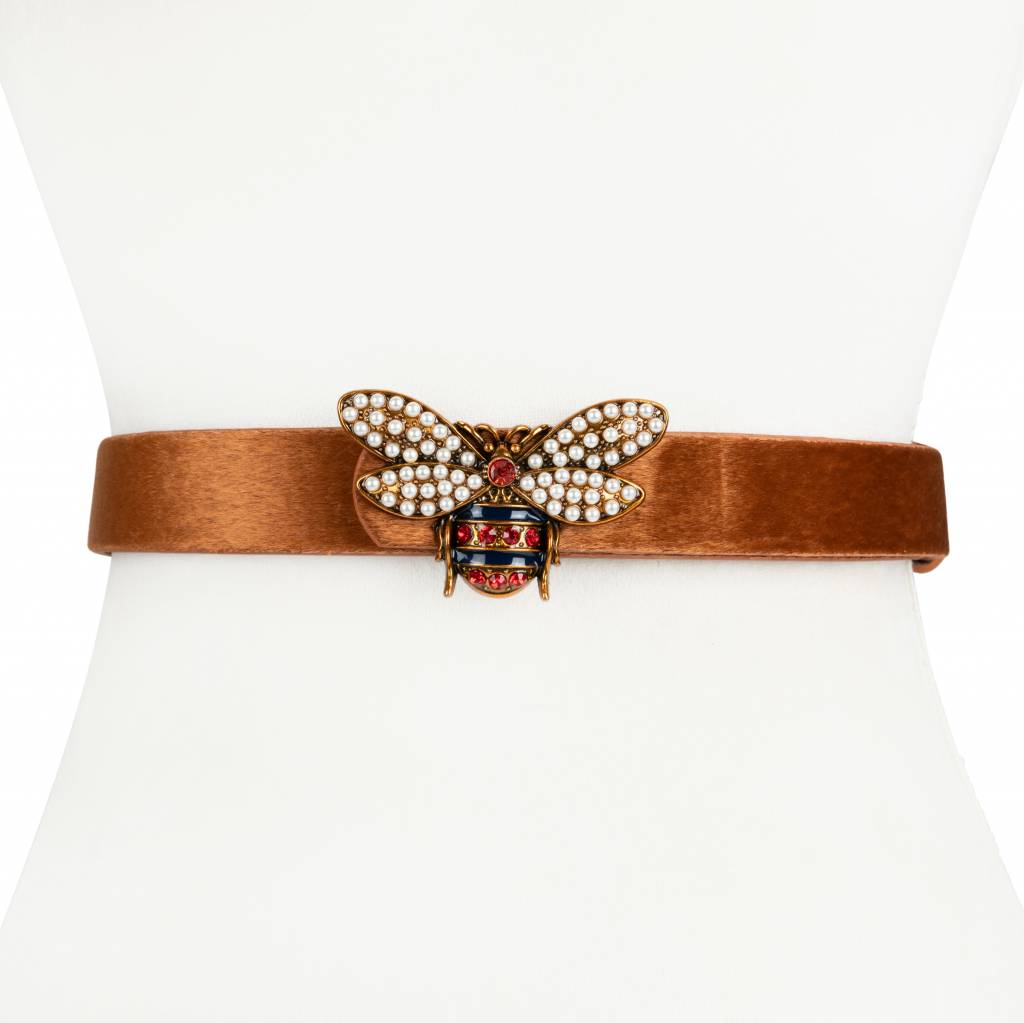 Two 12 Fashion Horsehair Bee Belt