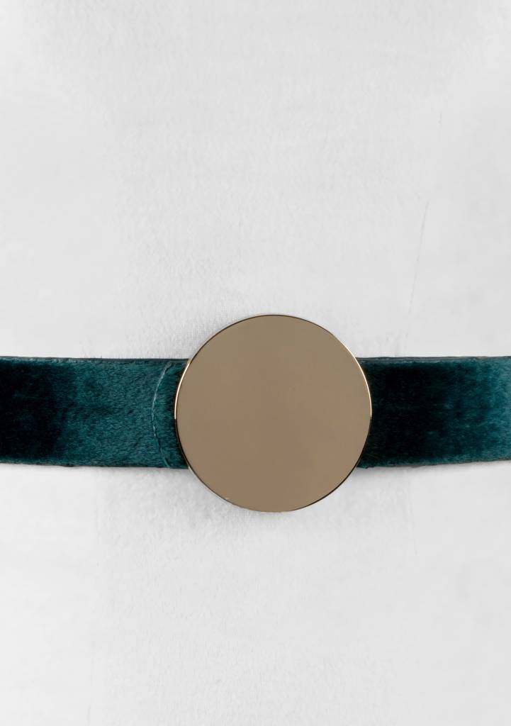 Two 12 Fashion Rounded Horsehair Buckle Belt