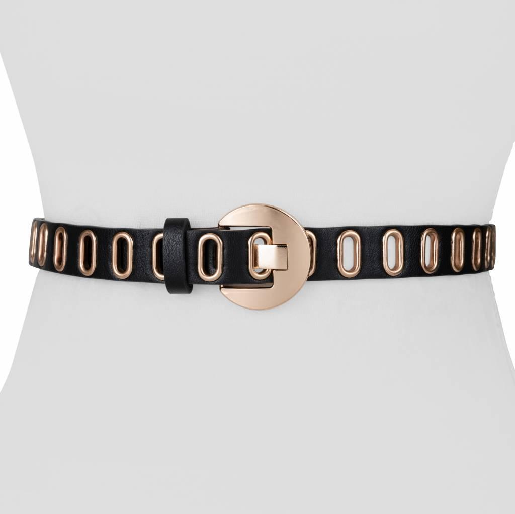 Two 12 Fashion Line Grommet Belt