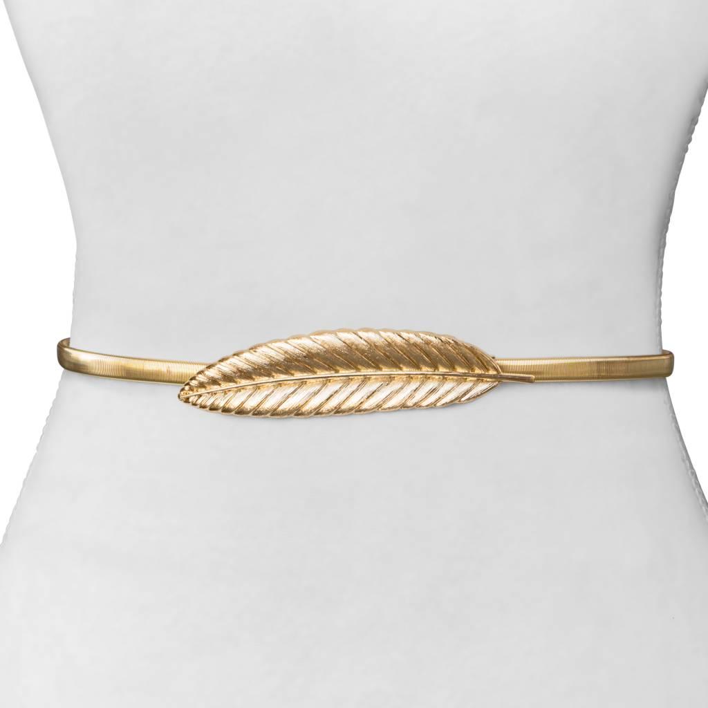 Two 12 Fashion Greek Leaf Belt