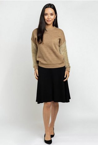 Ricciel Fuzzy Sleeve Sweater- See more colors!