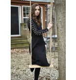 edit Studded Sleeve Dress
