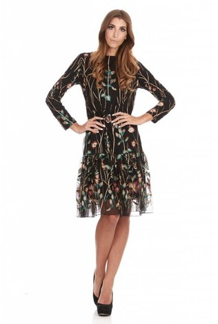 Bella Donna Embroidered Dress