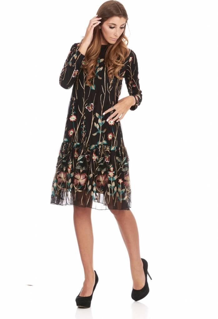 Bella Donna Embroidered Dress