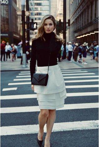 Ellie Makir Ellie Winter White Skirt