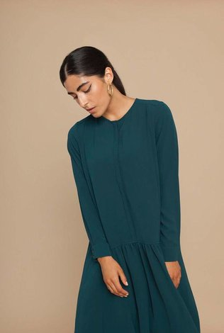 Solika Stella Crepe Shirt Dress
