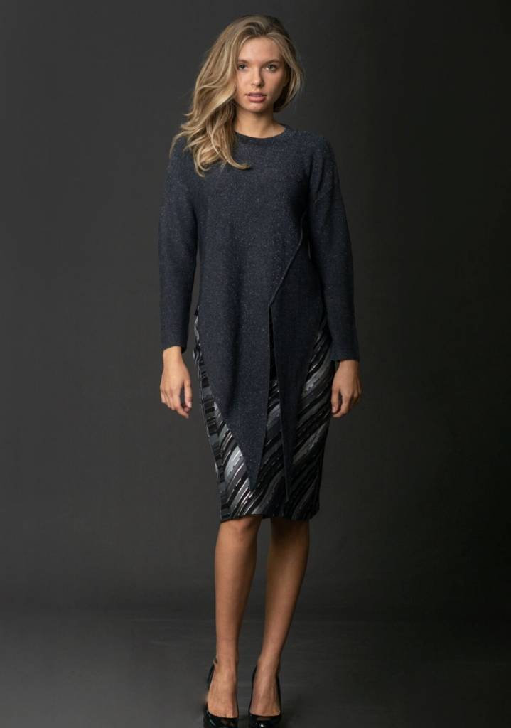 Front Row Couture Lurex Sweater