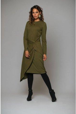 Deela Vibe Dress Olive