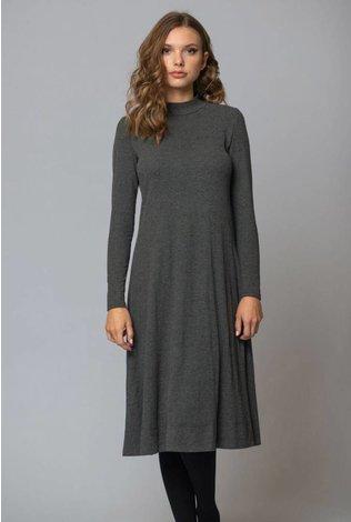 Deela A Line Ribbed Dress