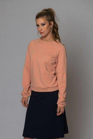Deela Mauve Bell Sweater