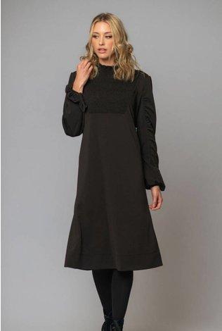 Deela Spin Dress Black