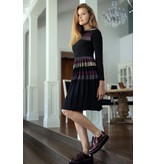 Celina Stripe Glitter Dress