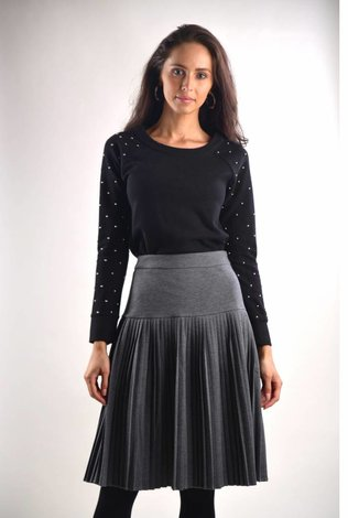 bliss Bliss Pleated Skirt