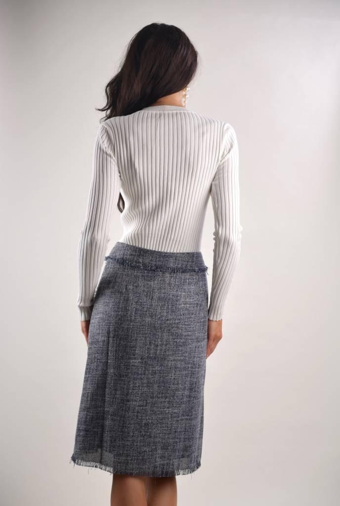 bliss Bliss Tweed Skirt