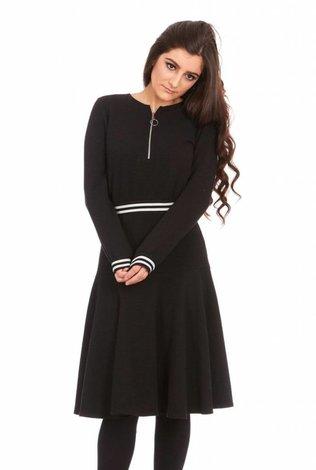 Bella Donna Mock Two Piece Dress