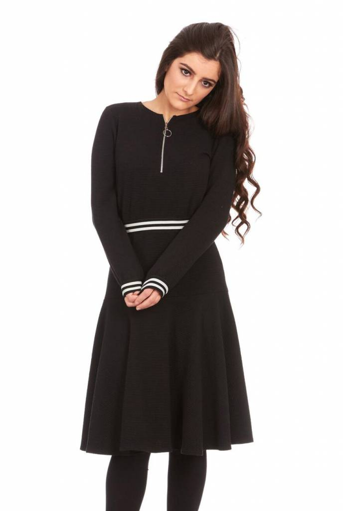 Bella Donna Mock Two Piece Dress