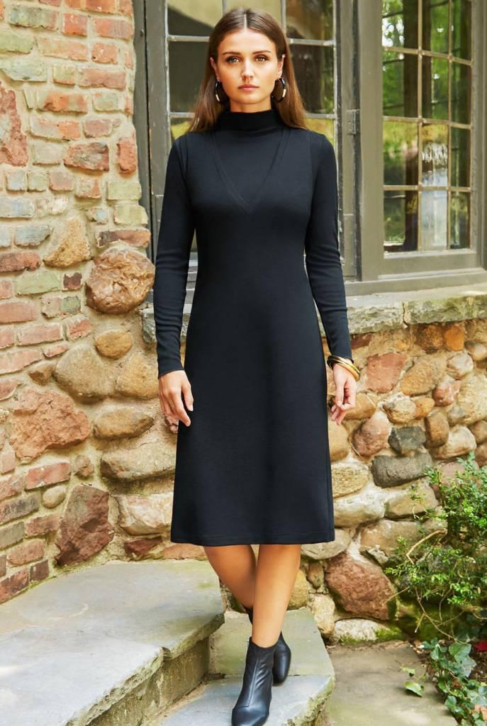 Pashmina Pashmina V-neck Sweater Dress