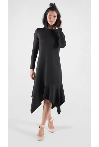 Code Asymmetrical Scuba Dress