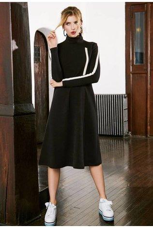 Pashmina Pashmina Sport Stripe Sweatshirt Dress