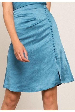 Lucy Paris Geneviene Button Skirt