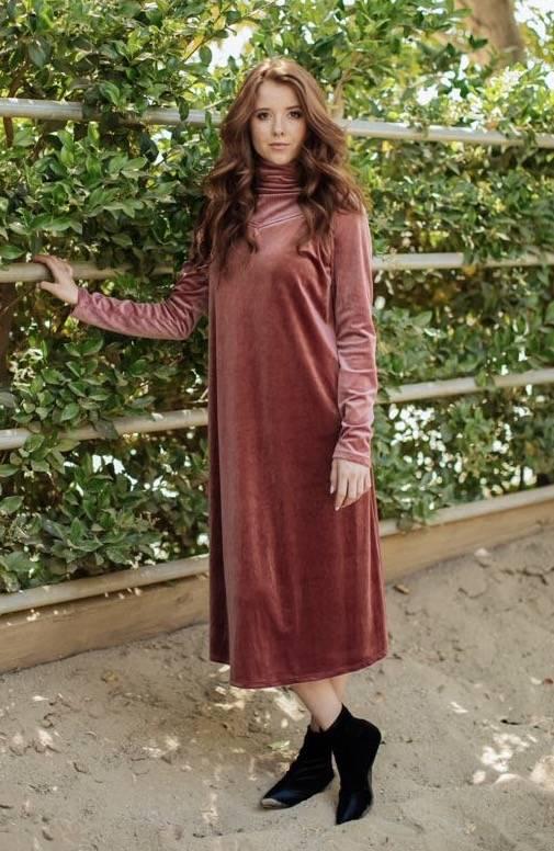 Go Couture Velvet Cami Dress