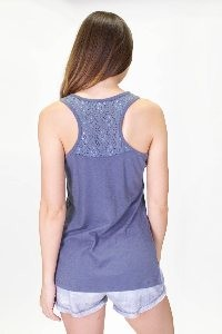 P.J. SALVAGE CROCHET TANK