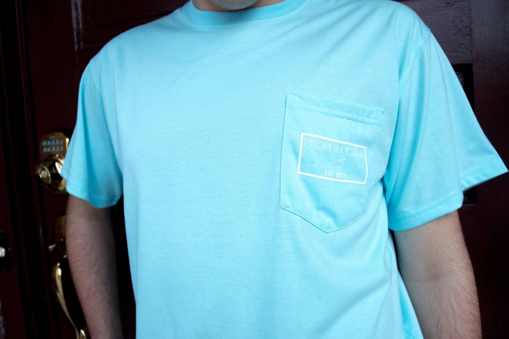 PROPERLY TIED DIRECTIONS S/S TEE