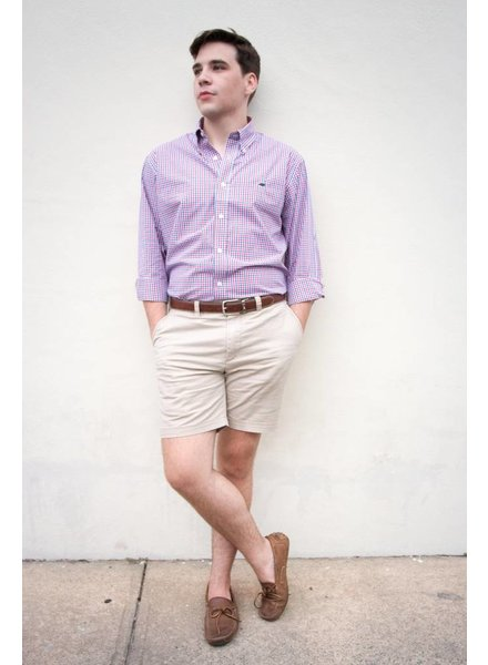 PROPERLY TIED CHECK WOVEN SHIRT