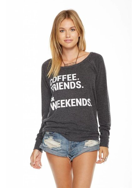 CHASER WEEKEND COFFEE LOVE KNIT