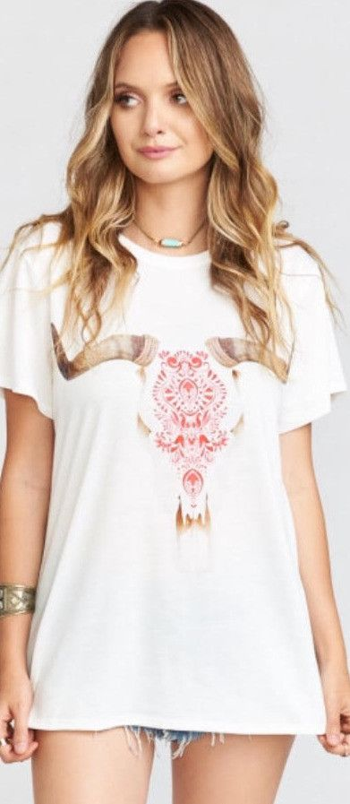 SHOW ME YOUR MUMU OLIVER TEE CASA LOVE GRAPHIC