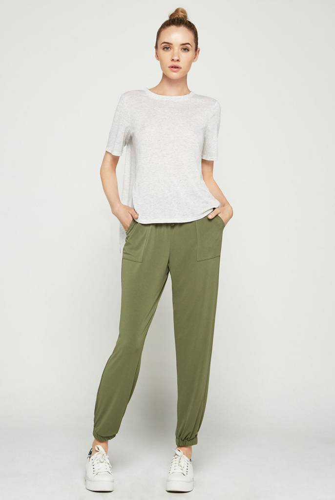 BCBGeneration TIE BACK KNIT TOP