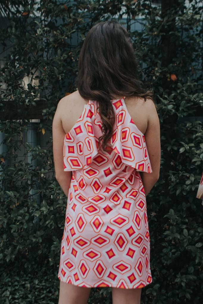 Jade RUFFLES HALTER DRESS