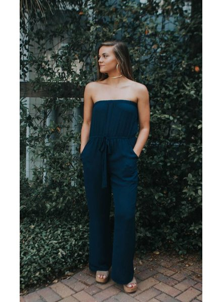 Glam OFF SHLDR JUMPSUIT