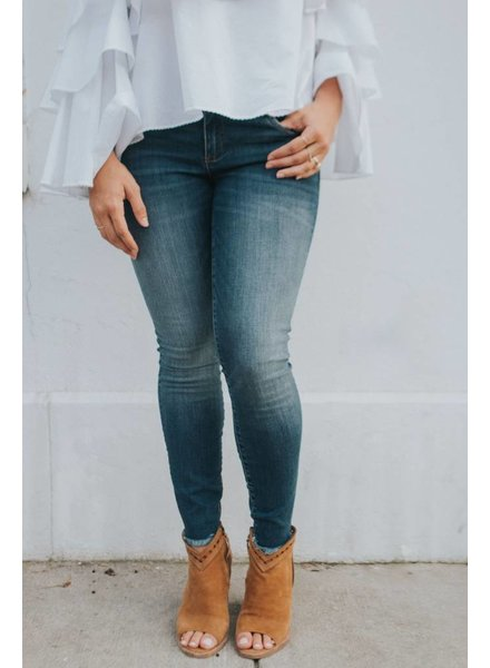 KUT CONNIE ANKLE SKINNY FRAY