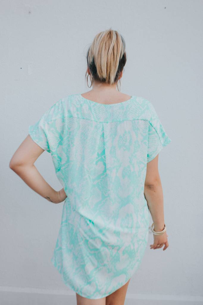 BuddyLove Clothing KRIS SNAKE DRESS