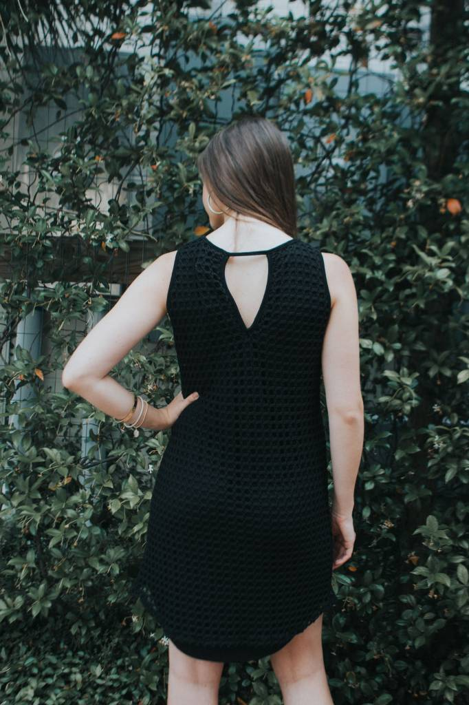 TROUBLE AT THE MILL NET OVERLAY DRESS