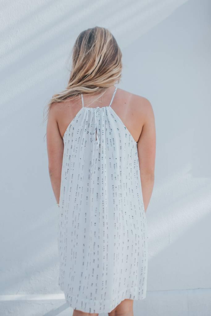 BELLA DAHL TIE-FRONT CAMI DRESS