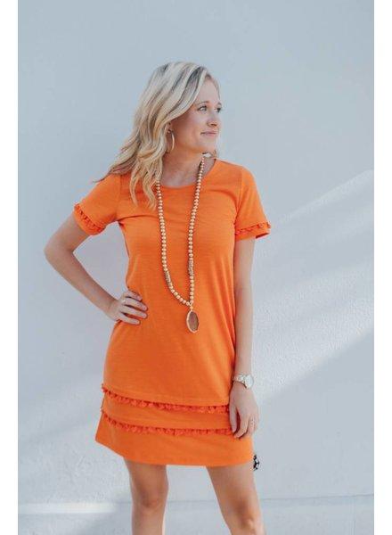 JOY JOY TASSEL PULL ON DRESS