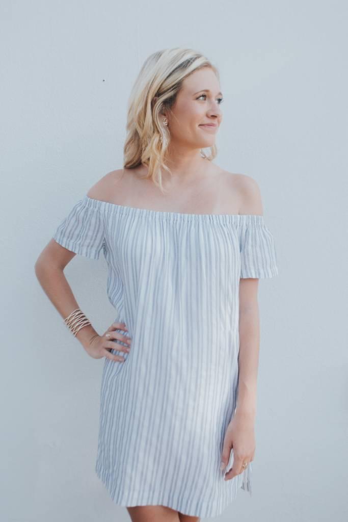 BELLA DAHL OFF SHLDR DRESS