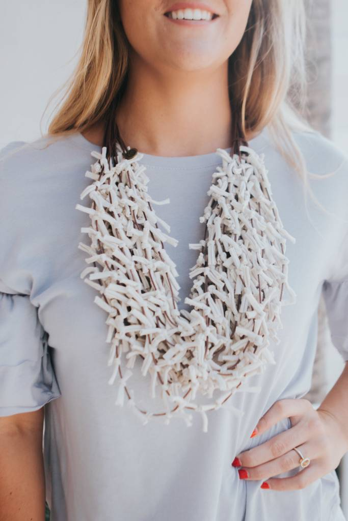 MARE.SOLE.AMORE MOROCCO NECKLACE #3 BEIGE