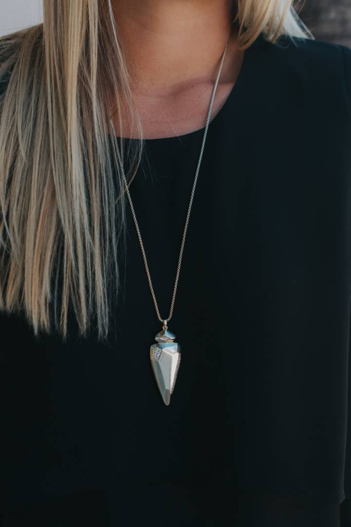 KENDRA SCOTT Staley Necklace Gold