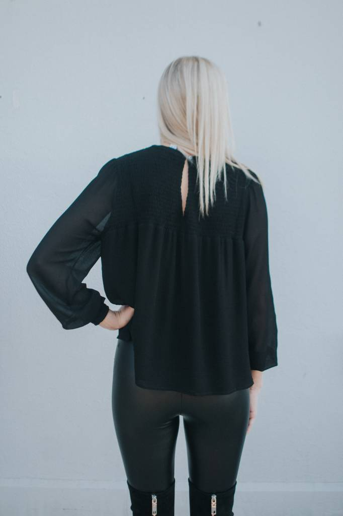 WREN & WILLA QUINN BLOUSE