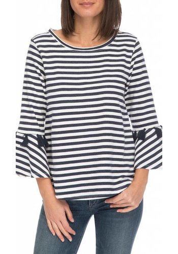 Brielle Striped French Terry