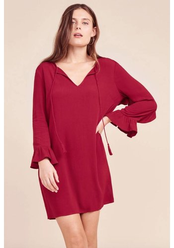 No Limit Currant Red Dress