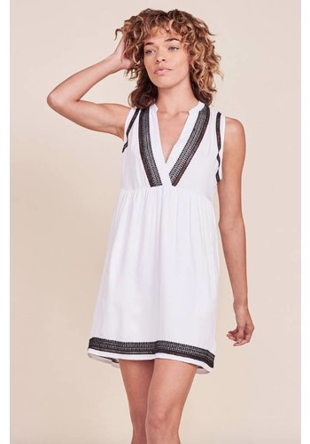 Acelynn Optic White Dress