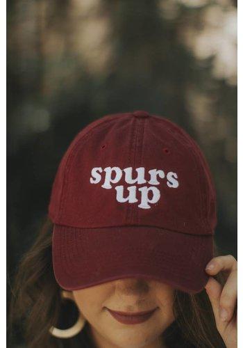 SPURS UP DAD CAP