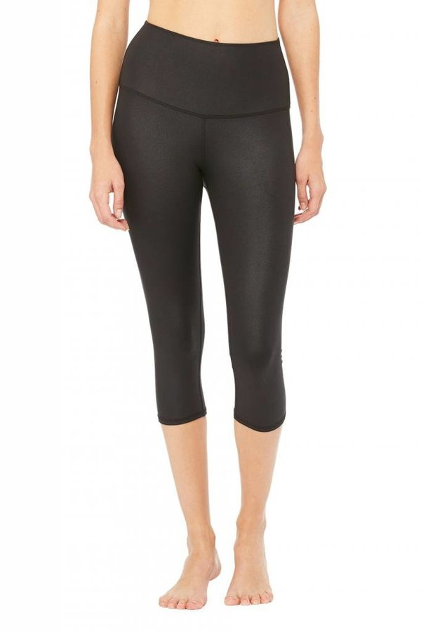 ALO YOGA High Waist Airbrush Capri